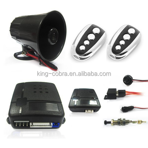 One Way Car Alarm System,Universal Car Alarm Security, High Quality Car Alarm Systems for South America