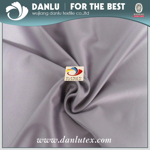 Full Dull /Fd DTY Spandex Span Satin for Garment, Upholstery