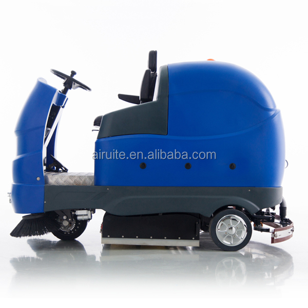 Electric sweeper scrubber