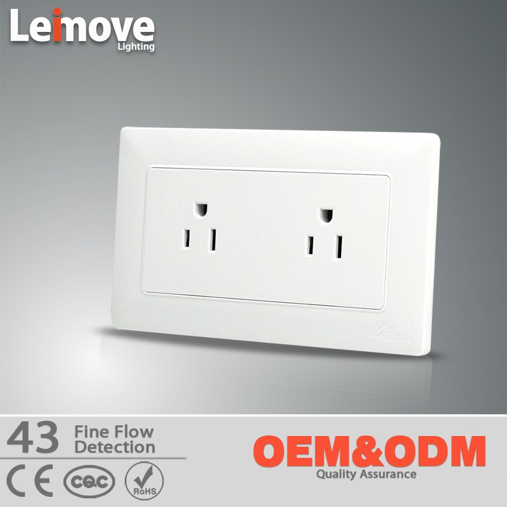 IP65 wall mounted shaver 110v switched socket
