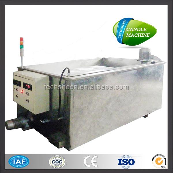 Electric heating candle wax melting tank machine