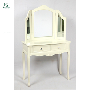 Modern French Type White Wood Dressing table