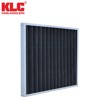 KLC industrial pleated filter, active carbon air filters
