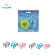 2015 hot selling silicone swimming nose clip waterproof earplug