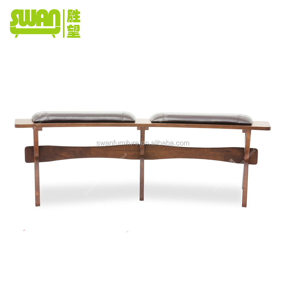 2164 Wooden Bench French Style Chair