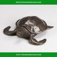 2015 new produced home decor bronze russian tortoise statue