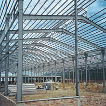 Easy Assembling and low cost steel structure constructions