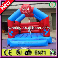 HI CE inflatable spider man bouncy castle