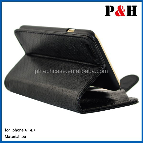For iPhone 6 Wallet cover case leather cases,for mobile phone 6 4.7 inch protective cover case with card slot