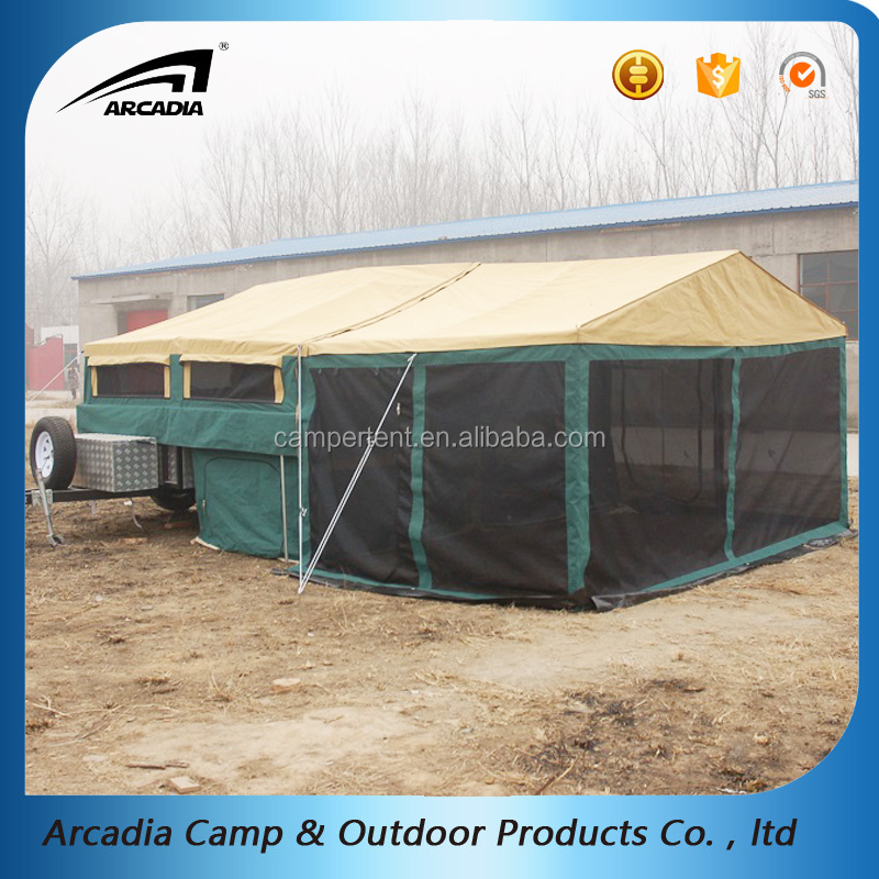 Car Tent Awning Camper Trailer Roof Top Family Tent For Camping
