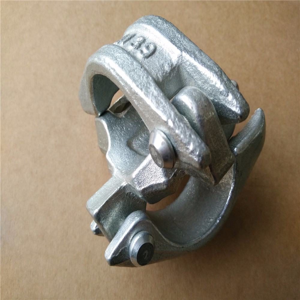 BS1139 forged scaffolding sleeve coupler for building