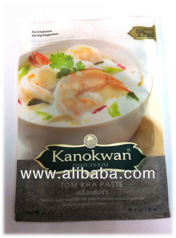 TOM KHA CURRY PASTE - Packaged Instant Tom Kha Paste - Thai Coconut Soup