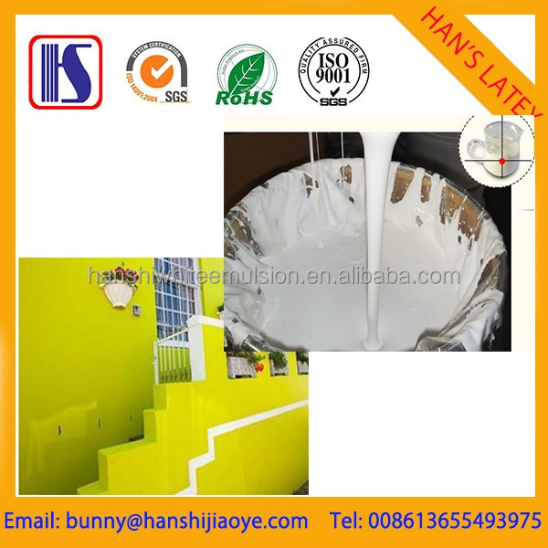 Han's Water-based waterproof Emulsion paint Acrylic wall emulsion paint Exterior latex paint