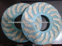 Htc 220mm and 270mm Diamond Fiber scouring and cleaning pad