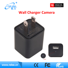 Home hidden secretary camera 1920X1080 video power plug wall socket hidden camera