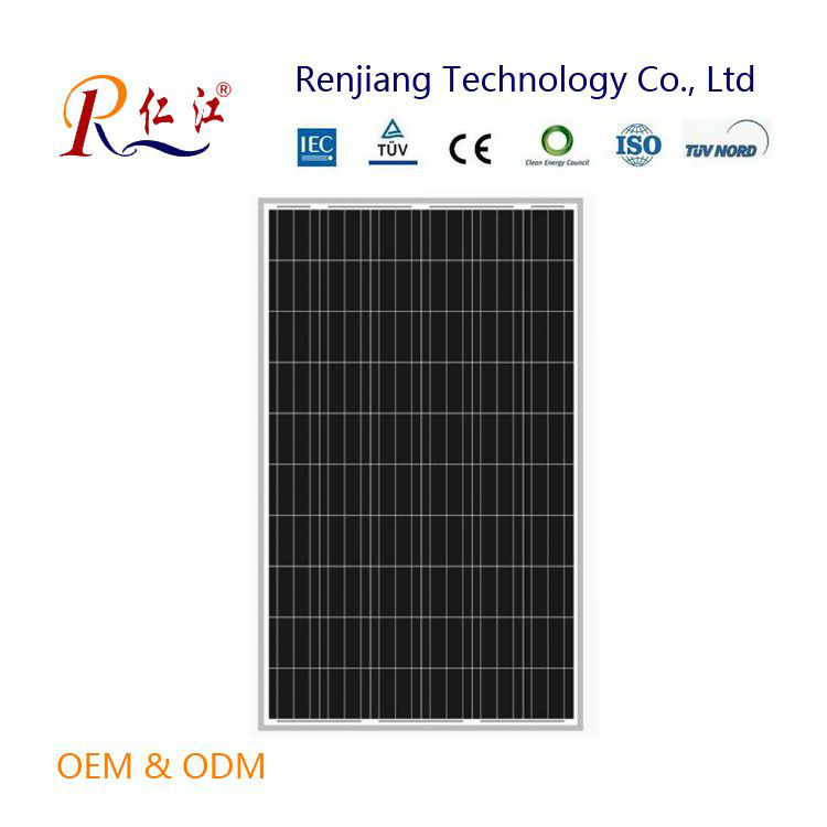 Factory price High efficiency 220W poly solar module 220w solar panel