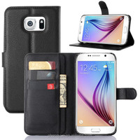 wallet pu leather mobile phone case for samsung S7 edge