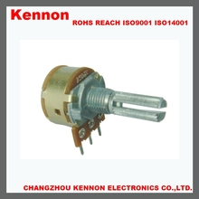 16MM b500k b504 low cost rotary potentiometer with switch for light switch fan switch speed control