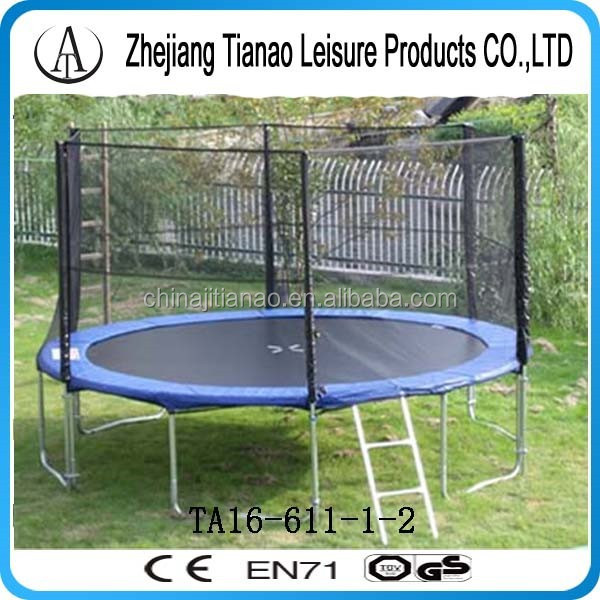biggest trampoline, cheap big trampolines have ce and gs certification TA16-611-1-2