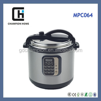 Stainless Steel HousingPressure Rice Cooker