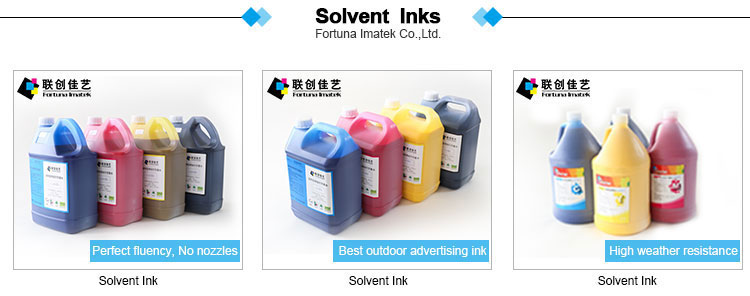 China Factory Eco-Solvent-Tinte für Epson DX4 DX5 DX6 DX7 Drucker