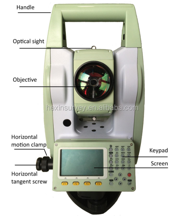Sunway prismless can range up to 350m total station ATS-420R total station cheapest price