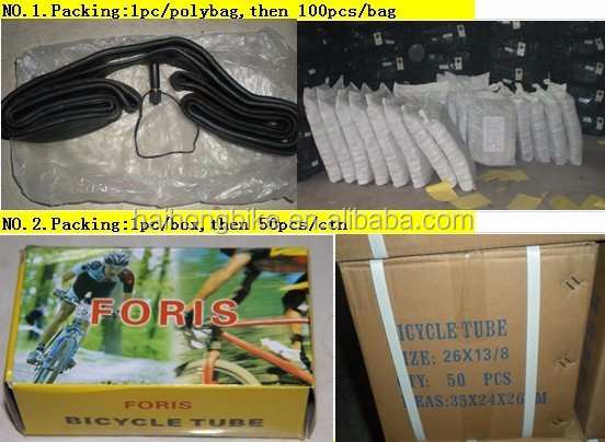 cheap rubber inner tube for bicycle/used bicycle inner tube/bicycle tyre tube