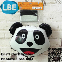 promotional plastic air filled panda balloons