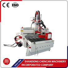 ATC function 3 axis wood working cnc router machine for wood funiture cabinets