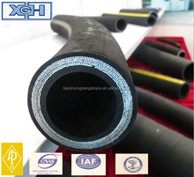 API 7K Certification High Pressure Steel Wire Spiraled Hydraulic Rubber Hose From XINGHENG
