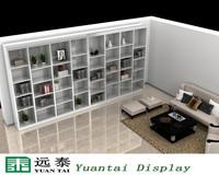Good service book store display shelf furniture design