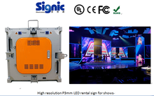 Very slim screen!!! Indoor full color die casting aluminum rental P3 P4 P5 P5 P6 LED display panel / LED video wall / China