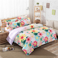 Duvet Cover Home Textile Wholesale Children Summer Polyester Print Kids Bedding Sheet Set
