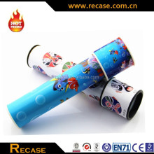 plastic cheap mini toys rotate kaleidoscope toy