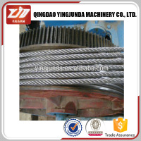 Elevator Steel Wire Rope For Lifts Or Elevators 8x19s+fc 8x19+sisial Core