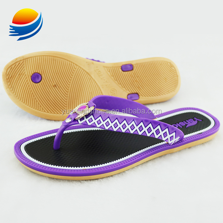 Save 10% Fancy Ladies Chappal Design Flat Chappals for Girls 1J707+1W