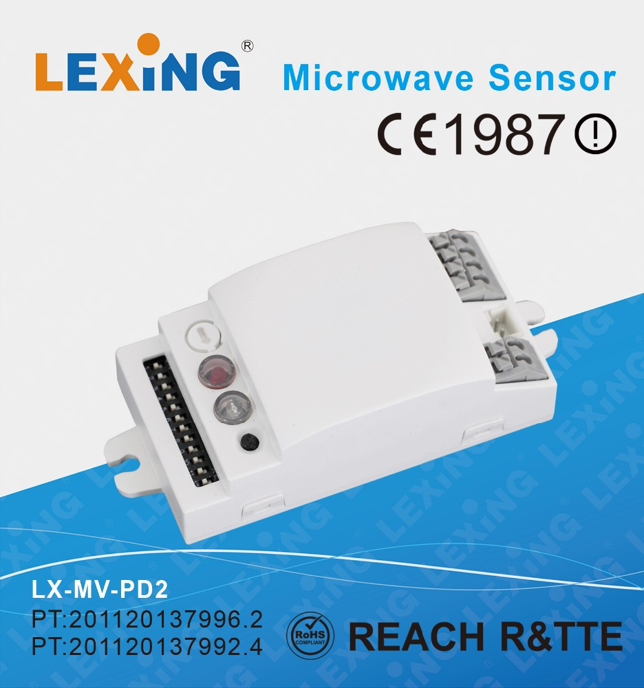 2017 hot sale AC power microwave motion sensor