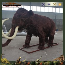 DW-0536 Large Animatronic Animal Life Size Animated Mammoth