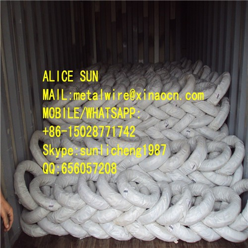 soft black iron wire black annealed wire/twisted black tie wire