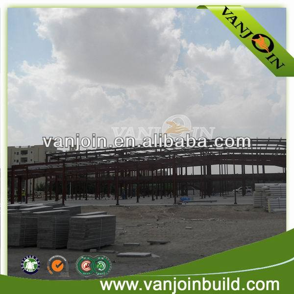 Low Cost Prefabricated Two Storey Steel House