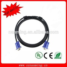 Fast Delivery Custom length 2 rca male to 3.5mm female vga cable