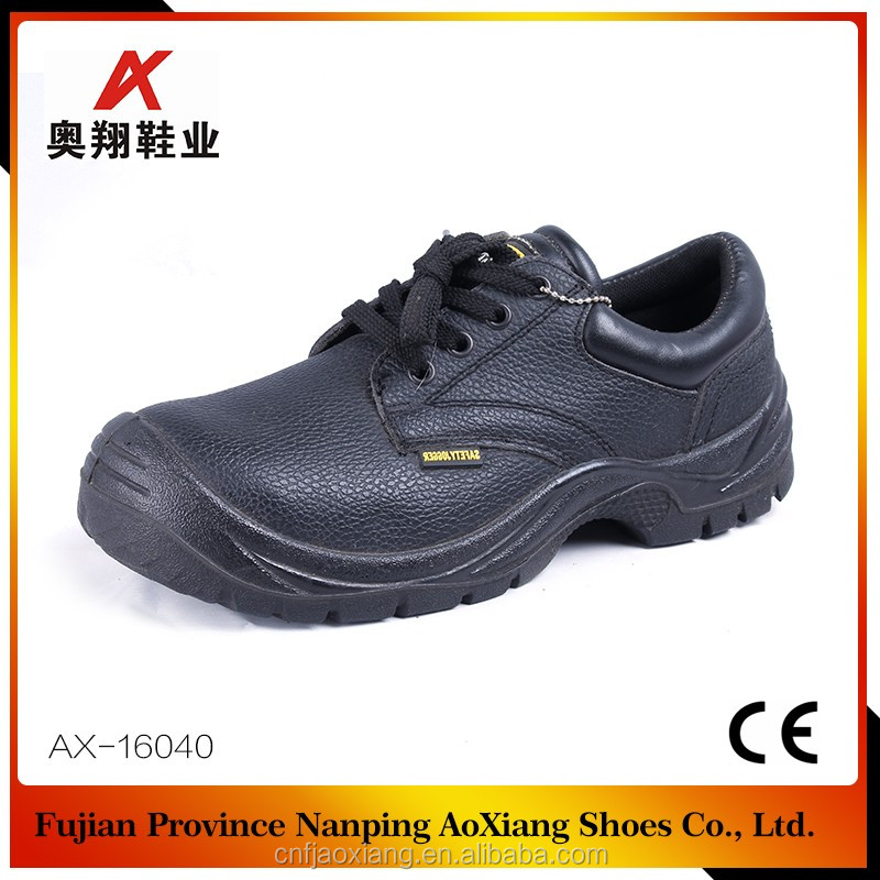 cheap action black leather industrial steel toe safety shoes price in india safety shoes low price buffalo leather