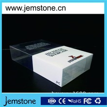 PET printing plastic folded box for webcam