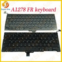 A1278 French keyboard for macbook pro 13'' FR keyboard ,100% tested and working(SUPER ERA)