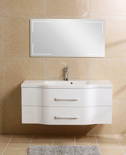 Newest Wall Mounted MDF veried sizes Bathroom Cabinet, MDF bathroom vanity, bathroom vanity with LED mirror (XS-1039)