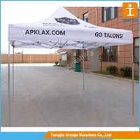 White easy set commercial pop up tent canopy gazebo for promotion