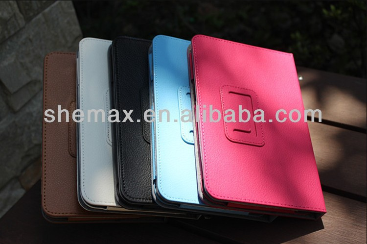 Made in china leather stand case for lenovo idea tab a3000 7 inch tablet