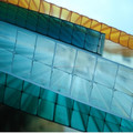 Multiple layers PC transparent polycarbonate Rectangle hollow sheet with 2 and 3 layers structure