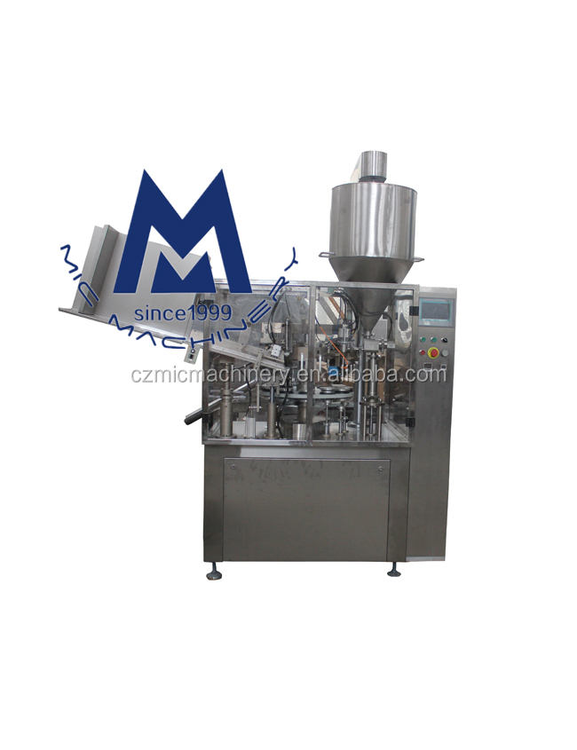 MICMachinery Mic-R60 Best packing 15 ml eye cream filling sealing equipment