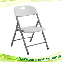 2015 Hot sale white cheap outdoor folding plastic chairs